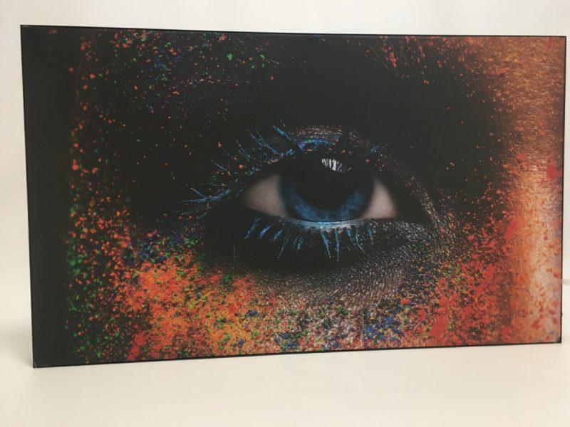 Verlicht peesdoek frame
